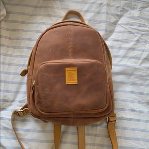 Genuine Leather Backpack from Colombia